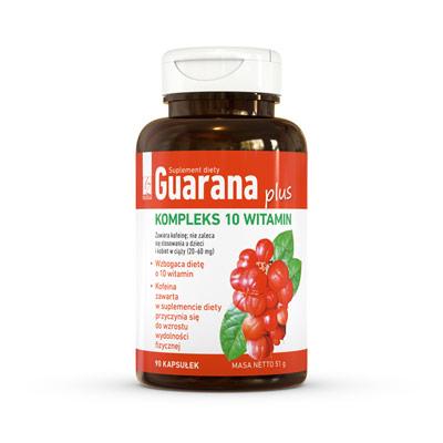 Guarana Plus Kompleks 10 Witamin - Suplement Diety