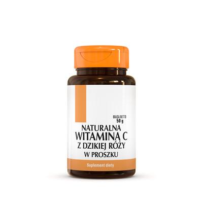 Naturalna Witamina C Z Dzikiej Róży W Proszku - Suplement Diety